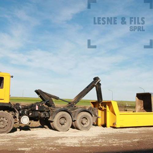 Lesne & Fils SPRL - Location de containers