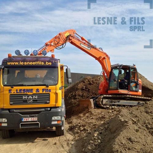Lesne & Fils SPRL - Terrassement