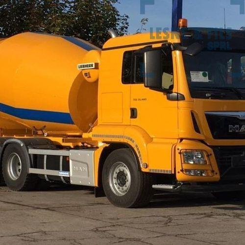 Lesne & Fils SPRL - Transport de béton