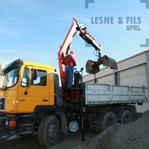 Lesne & Fils SPRL - transports